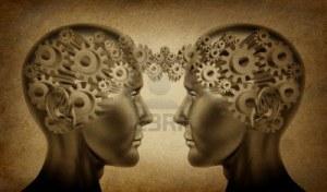 10892136-negocio-de-la-sociedad-y-el-simbolo-de-trabajo-en-equipo-representado-por-dos-cabezas-humanas-con-en